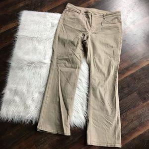 Sonoma Original Boot Cut Khaki Pants